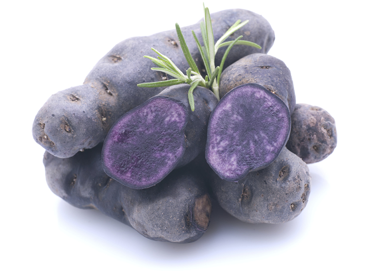 violet potato