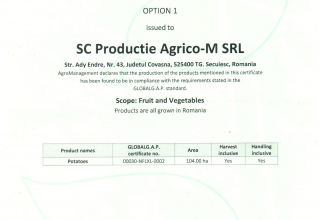 agricom certificate