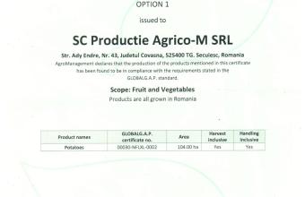 agricom certificate